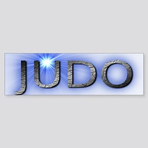 judo blue nova Sticker (Bumper)