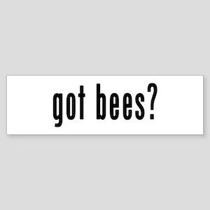 GOT BEES Sticker (Bumper)