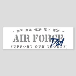 Proud Air Force Dad (Blue) Bumper Sticker