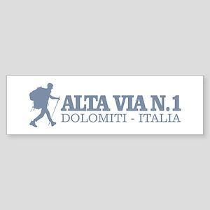 Alta Via 1 Bumper Sticker
