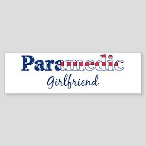 Paramedic Girlfriend Bumper Sticker