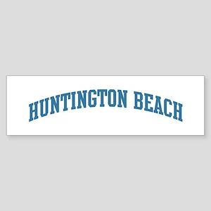 Huntington Beach (blue) Bumper Sticker