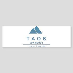 Taos Ski Resort Bumper Sticker