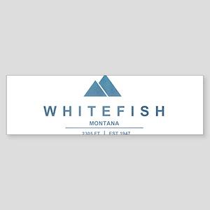 Whitefish Ski Resort Bumper Sticker