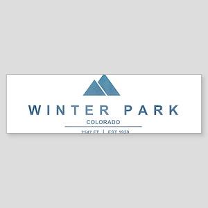 Winter Park Ski Resort Bumper Sticker