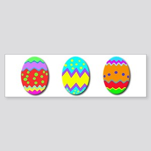 Easter Eggs Sticker (Bumper)