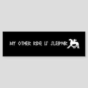 My Other Ride Is Sleipnir Sticker Bumper Sticker