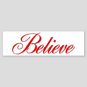 BELIEVE Sticker (Bumper)