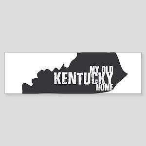 My Old Kentucky Home Bumper Sticker
