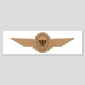 German Parachutist Sticker (Bumper)