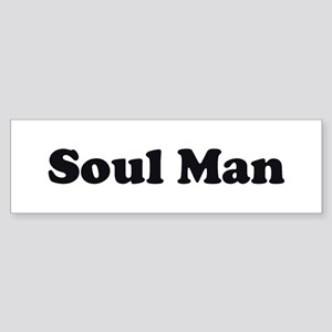Soul Man Bumper Sticker