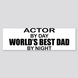 World's Greatest Dad - Actor Sticker (Bumper)
