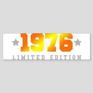 Limited Edition 1976 Birthday Bumper Sticker