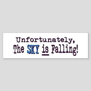 The Sky IS Falling Bumper Sticker