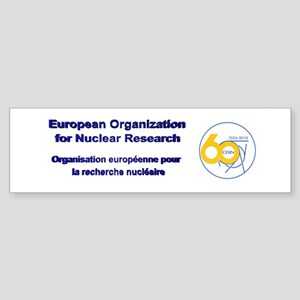 CERN Turns 60!! Sticker (Bumper)