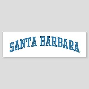 Santa Barbara (blue) Bumper Sticker