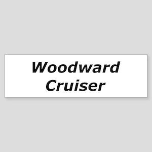 Woodward Cruiser Sticker (Bumper)