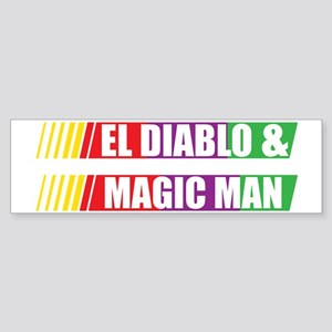 El Diablo and Magic Man Sticker (Bumper)