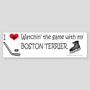 boston terrier Sticker (Bumper)