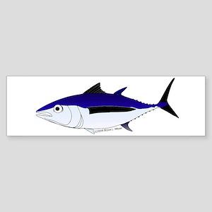 Albacore tuna fish Sticker (Bumper)