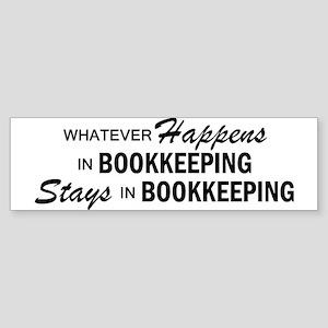 Whatever Happens - Bookkeeping Sticker (Bumper)