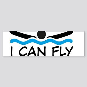 I can fly Bumper Sticker