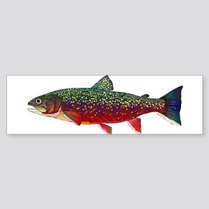 Brook Trout v2 Bumper Sticker