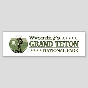 Grand Teton NP Bumper Sticker