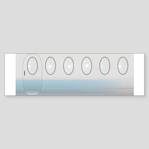 Aircraft Background Bumper Sticker