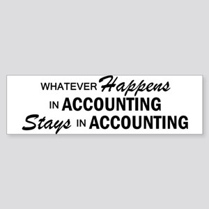 Whatever Happens - Accounting Sticker (Bumper)