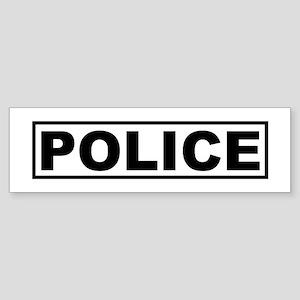 Police Bumper Sticker
