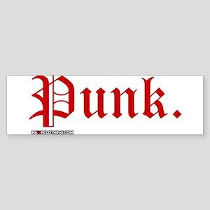 Punk Music Sticker (Bumper)