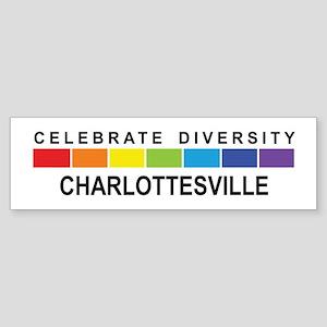 CHARLOTTESVILLE - Celebrate D Bumper Sticker