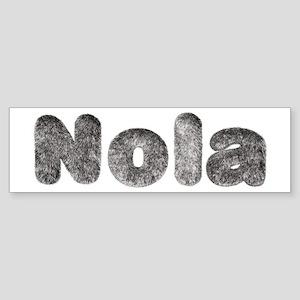 Nola Wolf Bumper Sticker