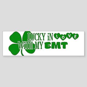 Lucky In Love Bumper Sticker