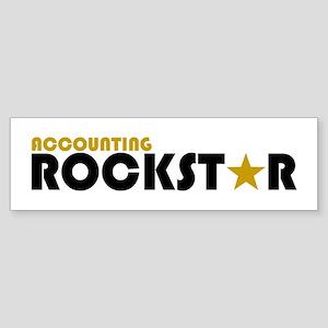 Accounting Rockstar2 Bumper Sticker