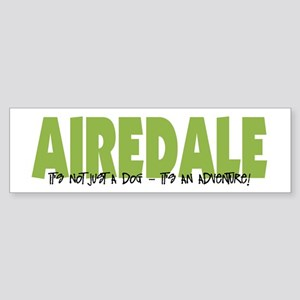 Airedale ADVENTURE Bumper Sticker