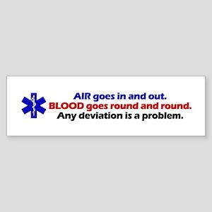 Air/Blood... Bumper Sticker