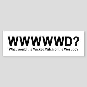 The Wizard Of Oz Sticker (Bumper)