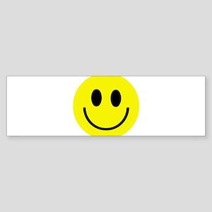 Happy Face Bumper Sticker