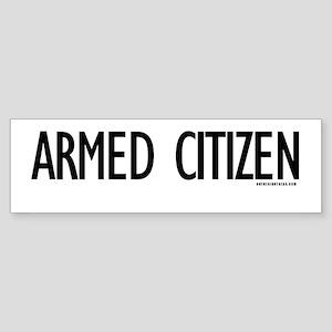 Armed Citizen Bumper Sticker