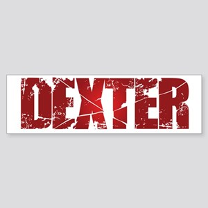 [Red] Dexter Sticker (Bumper)