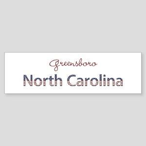 Custom North Carolina Sticker (Bumper)