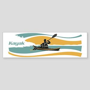 kayak sky Sticker (Bumper)