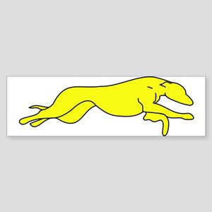 Greyhound Outline multi color Sticker (Bumper)