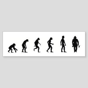 Evolution of Firefighter Bumper Sticker