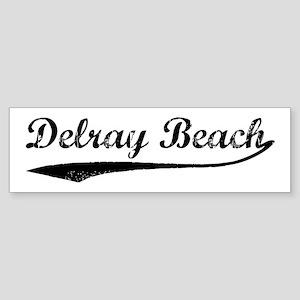 Vintage Delray Beach Bumper Sticker