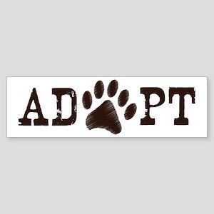 Adopt an Animal Sticker (Bumper)