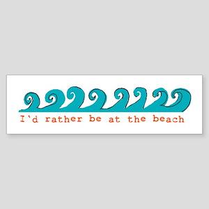 waves Bumper Sticker