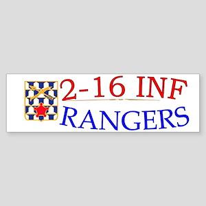 2nd Bn 16th Infantry cap1 Sticker (Bumper)
